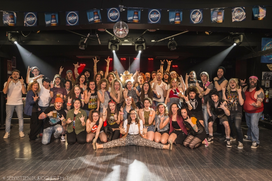 Rock of Ages Quebec cast